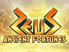 Zeus Ancient Fortunes at Aspers 2021