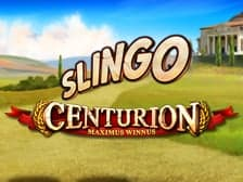 Play online slingo games like Centurion Slingo at Aspers.com