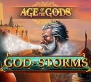 Age of The Gods God of Storms 2021 Playtech Age Of The Gods Slot Series at Gala Bingo online
