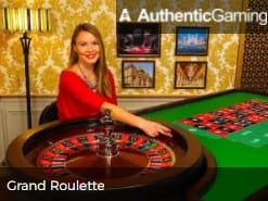 Authentic Gaming Grand Roulette