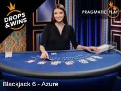 Blackjack Azure by Pragmatic Play Drops and Wins Mr Green Casino Live 2022