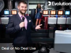 Deal or No Deal Live Casino at Mr Green
