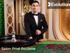 Evolution Gaming Live Casino Tables Salon Prive Roulette Live Casino game at Mr Green Casino 2021-2022