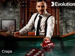 Evolution Gaming Live Craps Table at Mr Green Live Casino Table Games 2021-2022