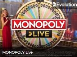 Evolution Monopoly Live Game Show at Mr Green Live Casino UK