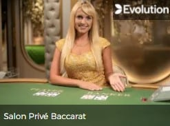 Evolution Salon Prive Baccarat at Mr Green online casino ready for 2022 E-Vegas.com