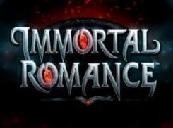Immortal Romance Videoslot At Mr Green Casino online Videoslots section of site.