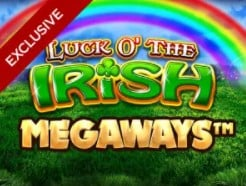 Luck O The Irish Megaways exclusive slot only at Mr Green