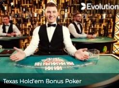 Mr Green Live Poker Casino Live Dealer Games by Evolution Live Gaming.