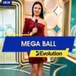 New Evolution Games Live Casino Mega Ball September 2021 Review at E-Vegas.com