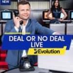 Origional Hit Deal or No Deal Live Casino game from Evolution Live Casino 2021 at Gala Bingo September 12 2021