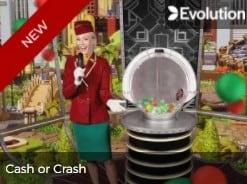 Play Evolution Gaming Cash or Crash at Mr Green