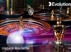 Play Evolution Gaming Live Casino Instant Roulette 2022 Mr Green E Vegas