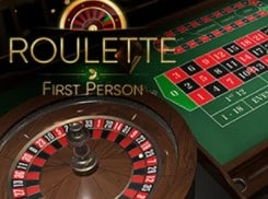 Roulette First Person online casino table games at Mr Green read the review at 2021