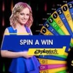 Spin A Win By Playtech Live Casino game shows at Gala Bingo online casino