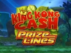 King Kong Cash new Prize Lines slot game online at Mr Green 2021-2022 E-Vegas.com