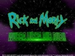 Rick and Morty TV Series Slot Game at Mr Green Casino.